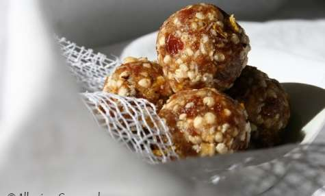 Energy balls citron-quinoa, bio