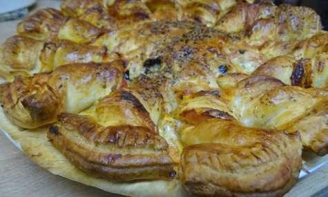 Tarte soleil façon pizza