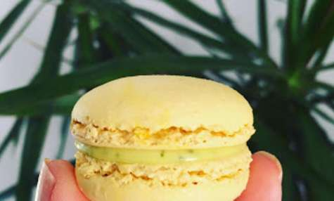 Macarons citron, sauge ananas