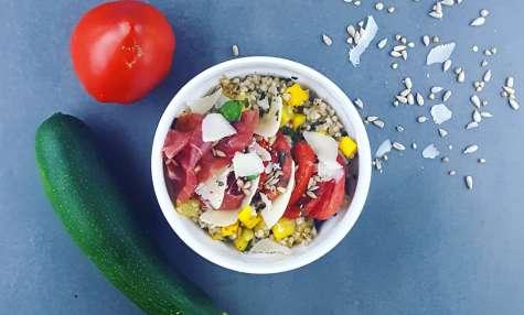Salade de sarrasin à l'italienne