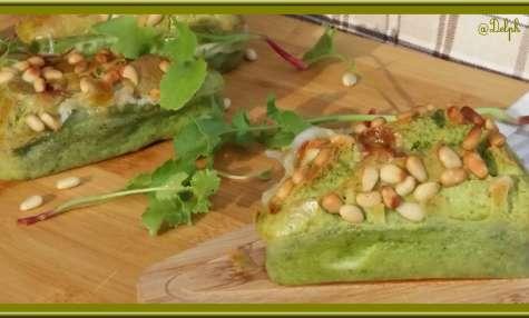 Minis Cakes Pesto mozzarella