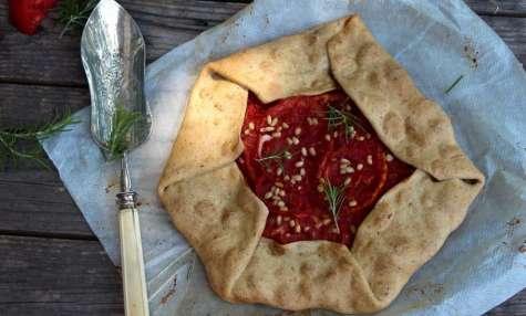 Tarte rustique à la tomate