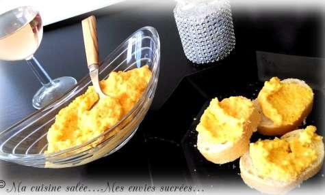 Rillettes de carottes - cumin & vache qui riz - Ma cuisine salée ... Mes envies sucrées ...
