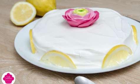 Layer Cake au lemon curd et chantilly
