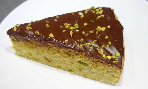Moelleux pistaches chocolat