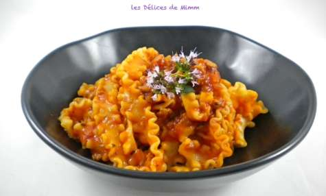 Sauce pour pâtes à la saucisse italienne
