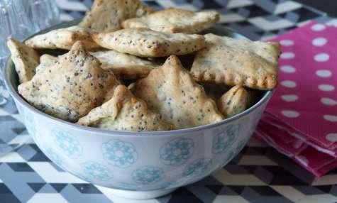 Crackers au pavot