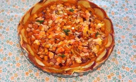Ma Pizza Ensoleillée... mais Sucrée 😉