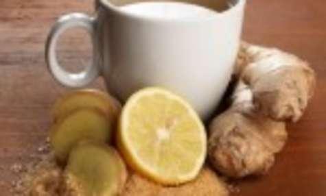 Tisane de gingembre, miel et citron