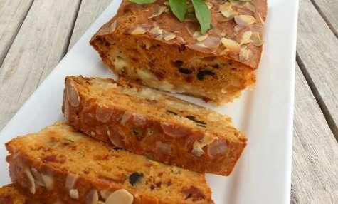 Cake salé sans gluten aux saveurs du Sud