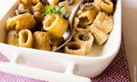 Gratin de pâtes sans gluten aux champignons spécial lunch box