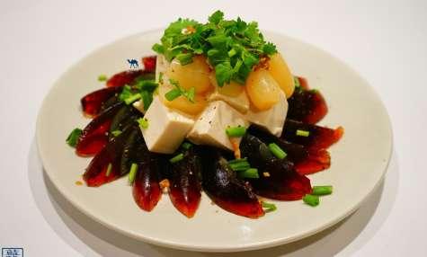 Tofu et oeufs de 100 ans