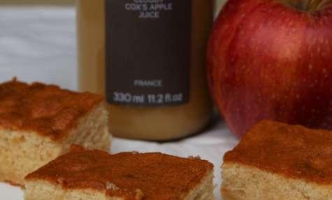 Gâteau Léger et Moelleux au Jus de Pomme