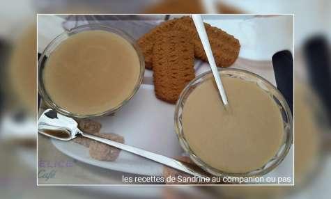 Crème dessert aux biscuits bastogne
