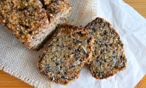 Pain au sarrasin, quinoa et graines
