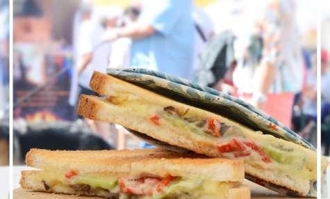 Sandwichs chauds au Bleu d'Auvergne