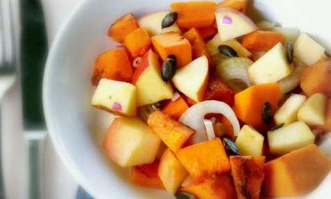 Salade de potiron à la pomme