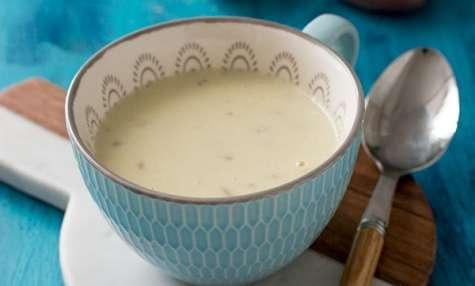 Soupe Vichyssoise (pommes de terre et poireaux)