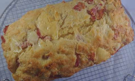 Cake au lardon et aux trois fromages