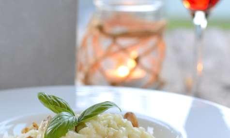 Risotto au Gorgonzola et noix