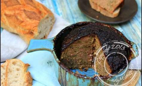 Terrine de veau aux échalotes confites au miel
