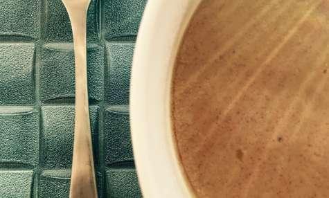 Crème dessert praliné façon Mont Blanc