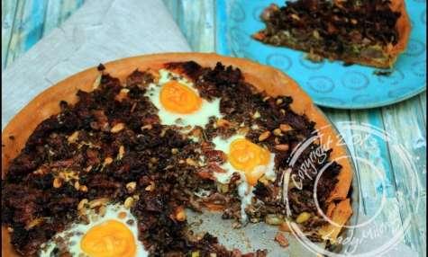 Tarte sucrée et épicée au boeuf et porc de Yotam Ottolenghi