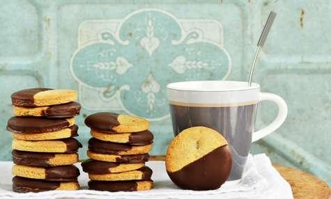 Biscuits Citron confit, Gingembre, Chocolat
