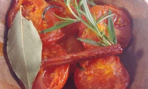 Tajine de tomates à la cannelle et au miel