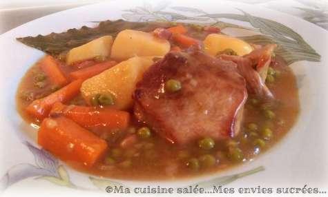 Ragoût de porc et ses petits légumes