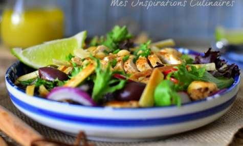 Recette sauté de poulet au soja et citron vert