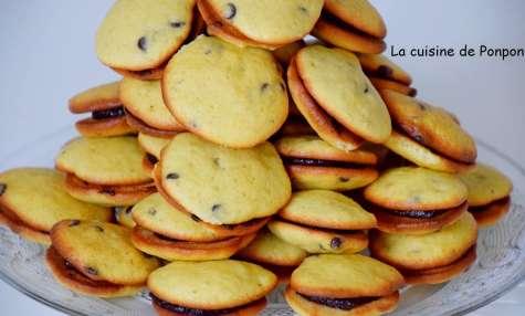 Biscuit à la banane aux pépites de chocolat