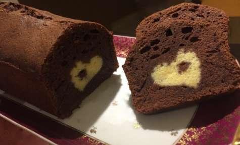 Cake surprise cœur