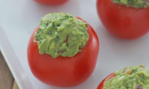 Tomates farcies au guacamole - Cuisine Culinaire