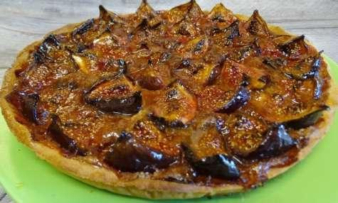 Tarte aux figues du Roussillon, pâte sucrée