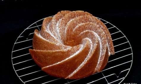 Bundt Cake aux amandes, citron et buttermilk