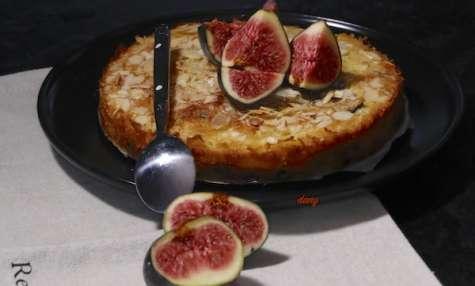 Gâteau aux figues amandes et chocolat