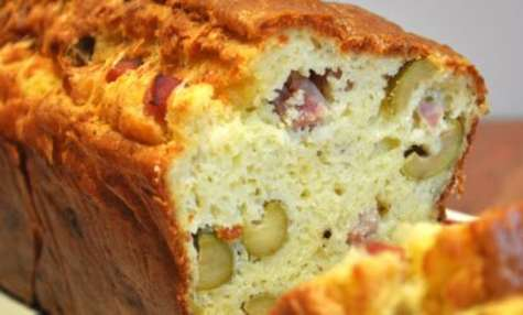 Cake aux olives et jambon au cookeo
