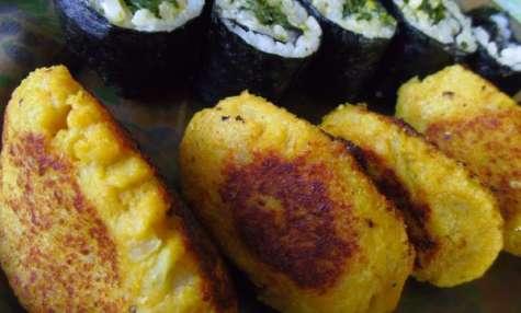 Nuggets vegan de chou-fleur au curry