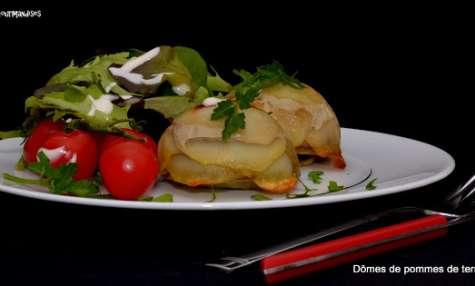 Dômes de pommes de terre à la viande