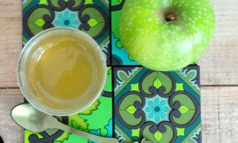 Gelée de pommes vertes