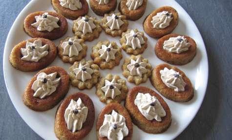 Petits moelleux aux châtaignes et sa crème de châtaignes - mille et une saveurs dans ma cuisine