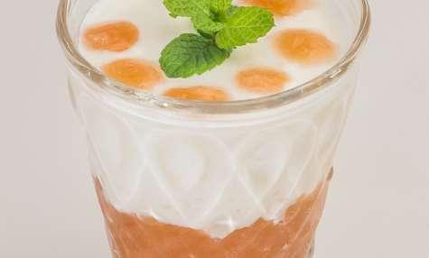 Confit de coings au yaourt