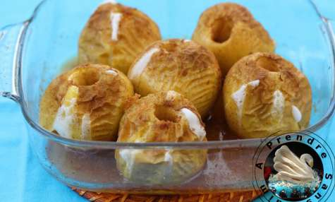 Pommes au miel et gingembre