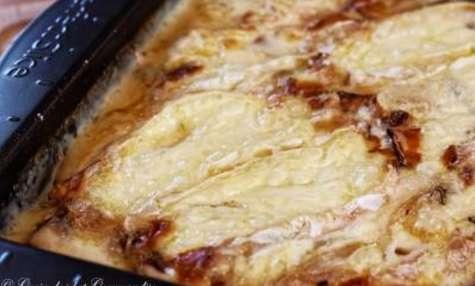 Gratin de pommes de terre au Mont d'Or