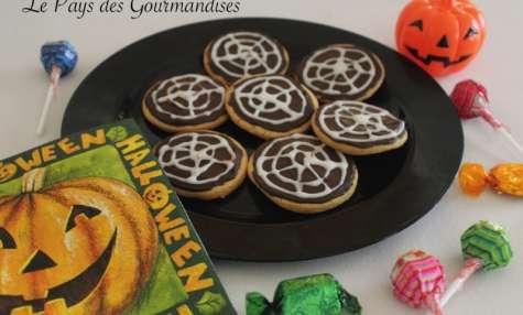 Biscuits toiles d'araignées
