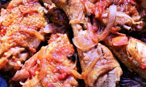 Cuisses de poulet sautées à l'Aveyronnaise
