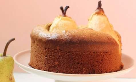 Gâteau épice et poires