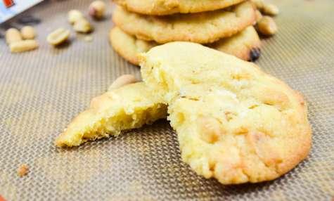 Cookies Toblerone blanc et cacahuètes