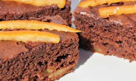 Cake moelleux au chocolat et à l'orange